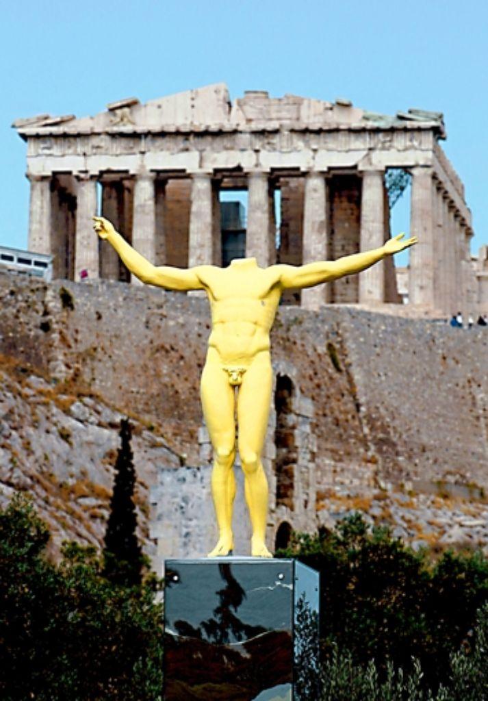 Ist der Austritt Griechenlands aus der Euro-Zone eine Lösung? Foto: Archiv