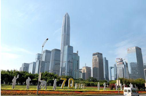 Charmeoffensive aus Shenzhen