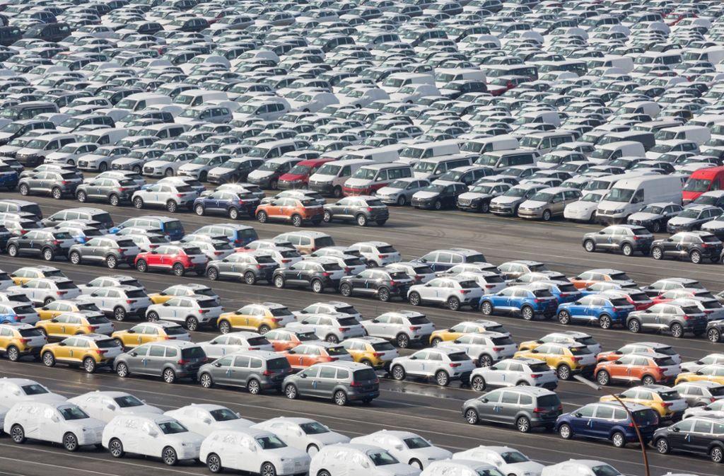 Jahrelang war China ein boomender Automarkt. Doch der Handelsstreit lässt die Zahlen schrumpfen. (Symboldbild) Foto: dpa