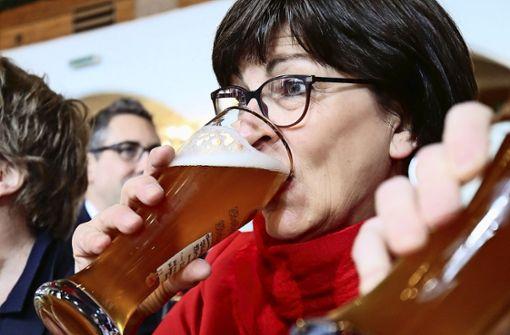SPD-Chefin Esken besucht Traube Tonbach