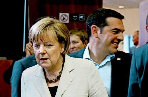Merkel durchkreuzt Athens Gipfelplanungen