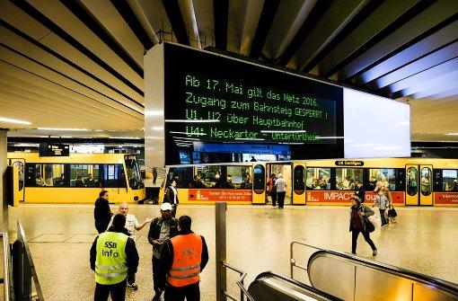 SSB-Fahrgäste müssen mit längeren Fahrzeiten rechnen