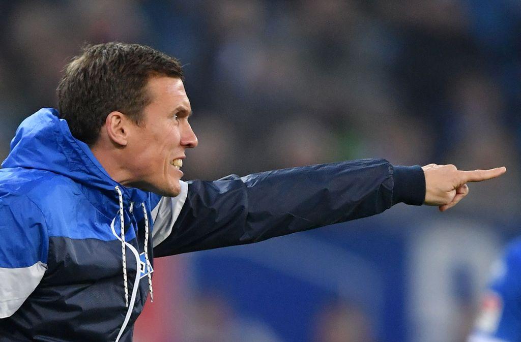 HSV-Coach Hannes Wolf gibt Kommandos – zuletzt ohne Erfolg. Foto: Bongarts
