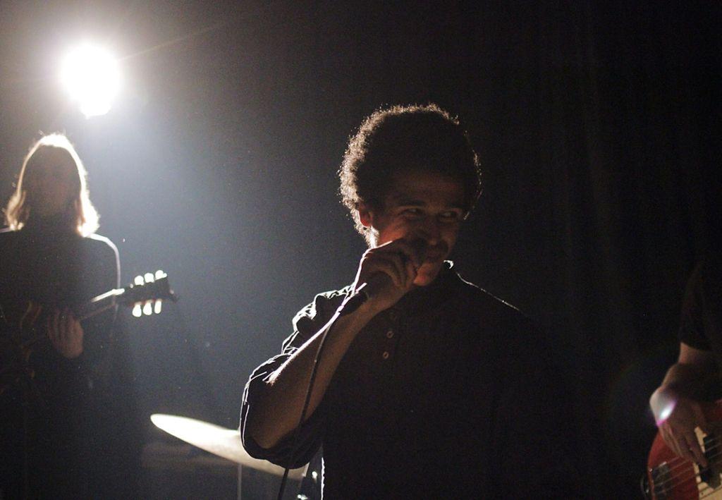 Noah Kwaku hat in der Rakete seine erste EP Too Late vorgestellt. Foto: Jan Georg Plavec