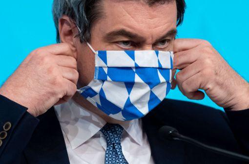 Maskenpflicht trennt das Land