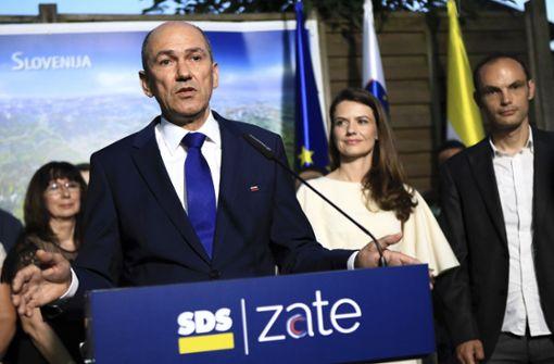Rechtskonservativer Janez Jansa gewinnt Parlamentswahl