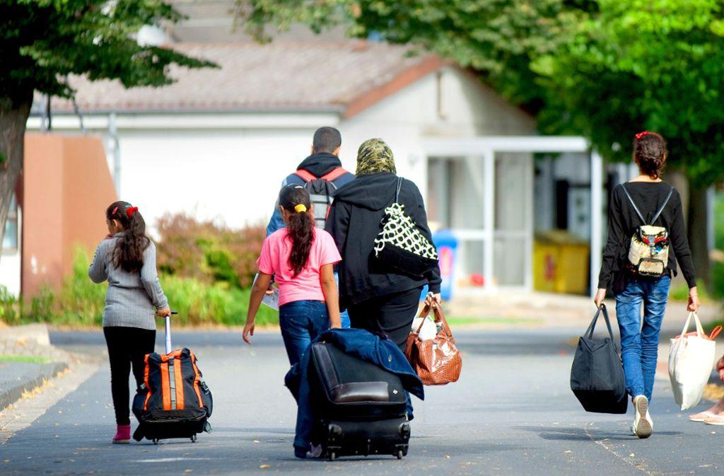 Für viele Flüchtlinge bedeutet die Regelung zum Familiennachzug jahrelanges Warten. Foto: dpa