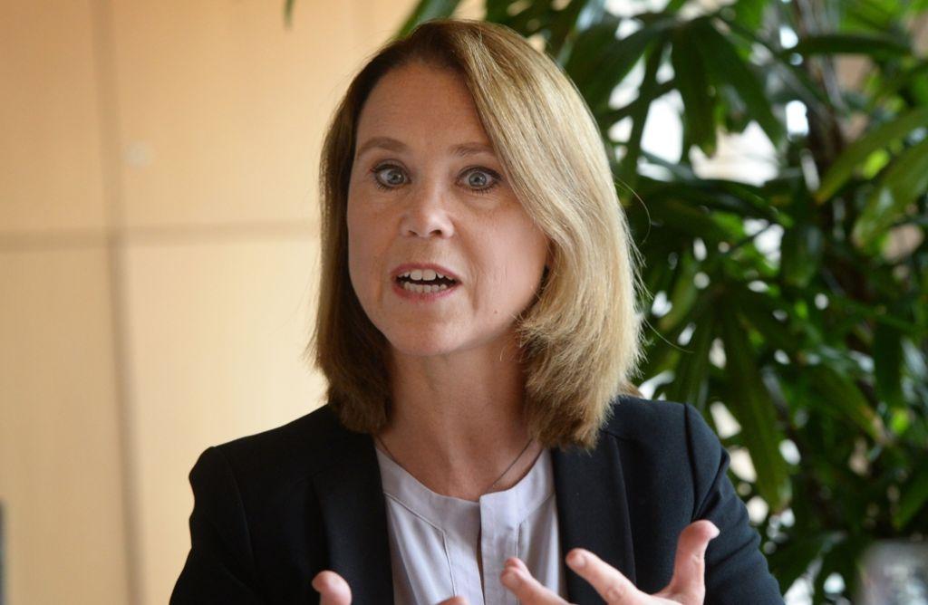 """Mal mit, mal ohne """"von"""": Staatssekretärin Petra Olschowski Foto: dpa"""