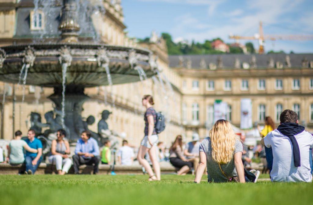 Endlich wieder viel Sonne in Stuttgart – die sommerlichen Tage kann man mit zahlreichen Aktivitäten gestalten. Foto: dpa