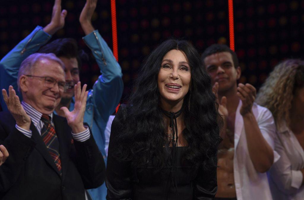 Cher, hier vor wenigen Tagen bei der Premiere des Braodway-Musicals über ihr Leben. Foto: dpa