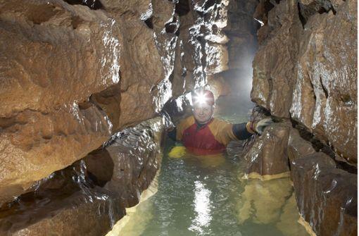Wie es in der Wasserhöhle aussieht