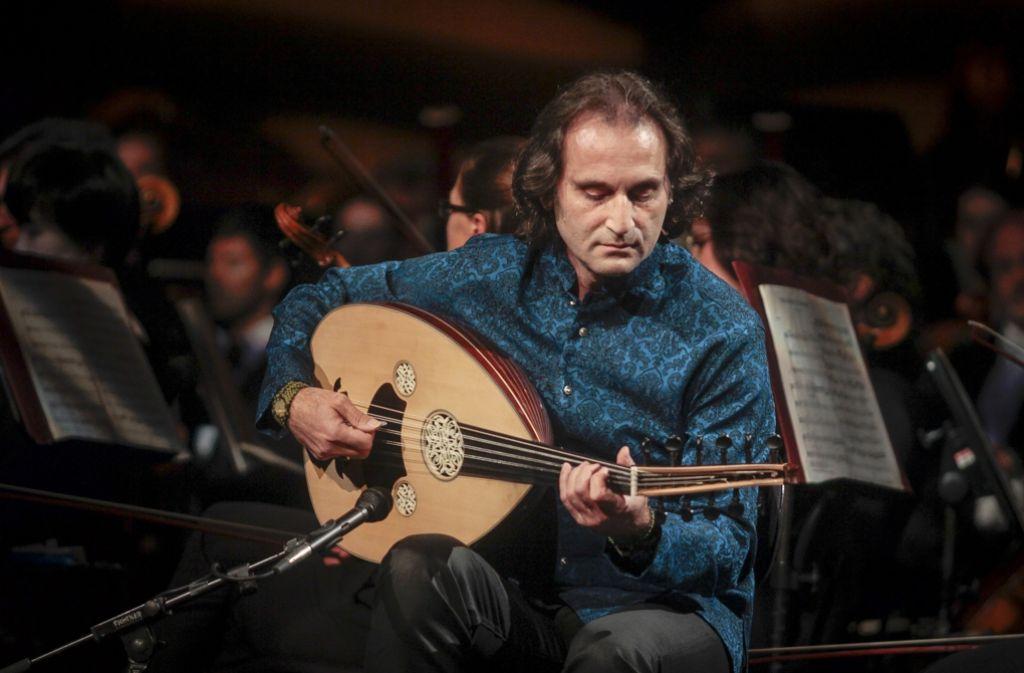 Ungewöhnlich: Yurdal Tokcan spielt türkische Mandolinenmusik. Foto: factum/Granville