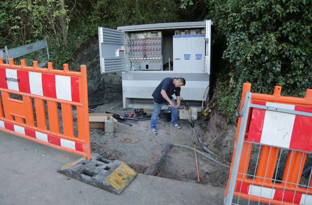 Die Netze-BW sollen in Filderstadt helfen, das Strom- und Gasnetz auszubauen. Foto: Patricia Sigerist