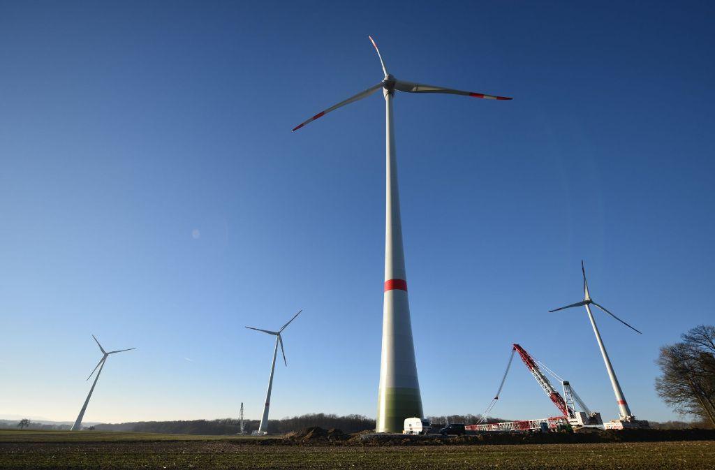Das Thema Windkraft beschäftigt den Planungsausschuss des Verbands Region Stuttgart weiter. Foto: dpa
