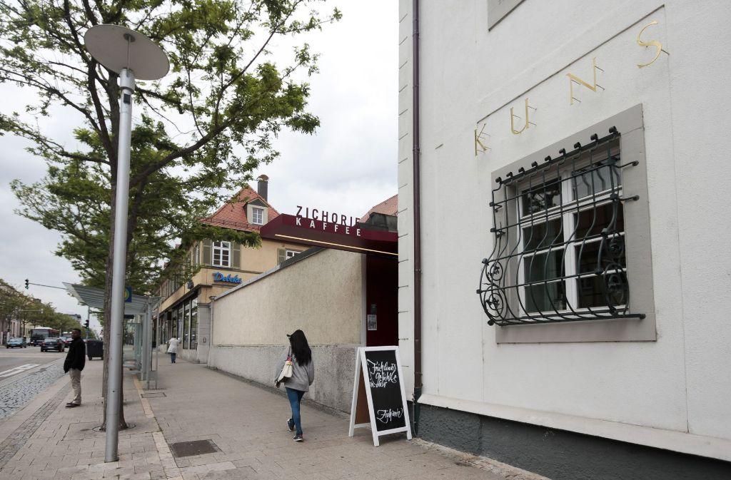 Wenig wahrnehmbar: das Café Zichorie im Stadtmuseum schließt zum Jahresende. Foto: factum/Granville