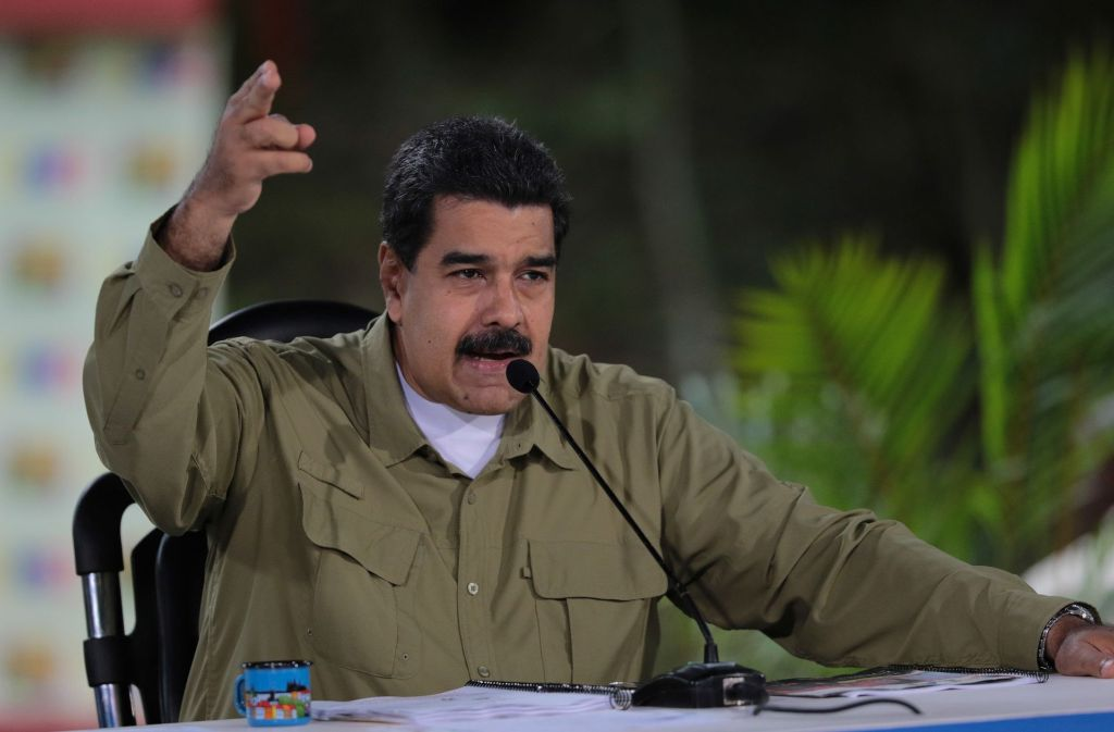 Präsident Maduro ist derzeit nicht zu Zugeständnissen bereit. Foto: dpa
