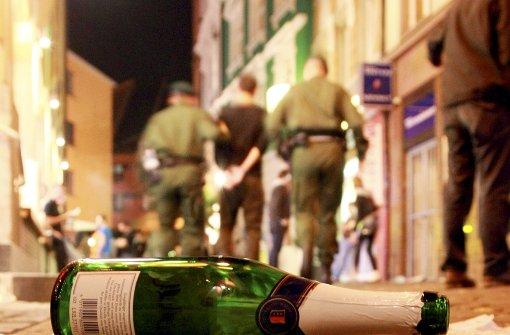 Nach Schlägerei Polizisten beleidigt