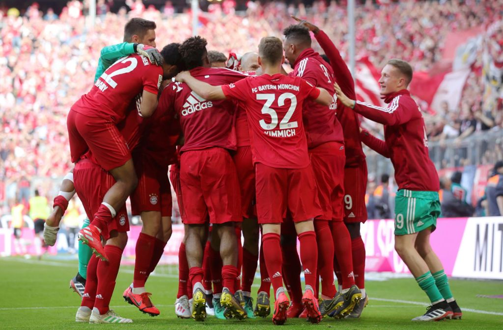 Der FC Bayern München kann sich über ihre 29. Meisterschaft freuen. Foto: Bongarts/Getty Images