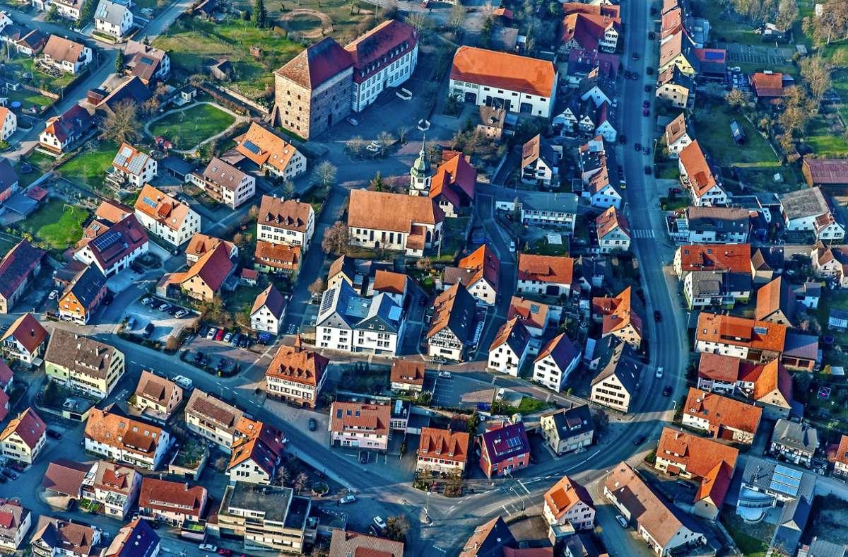 In die Stadtkernentwicklung von Heimsheim  könnte Bewegung kommen. Foto: Holger Leicht