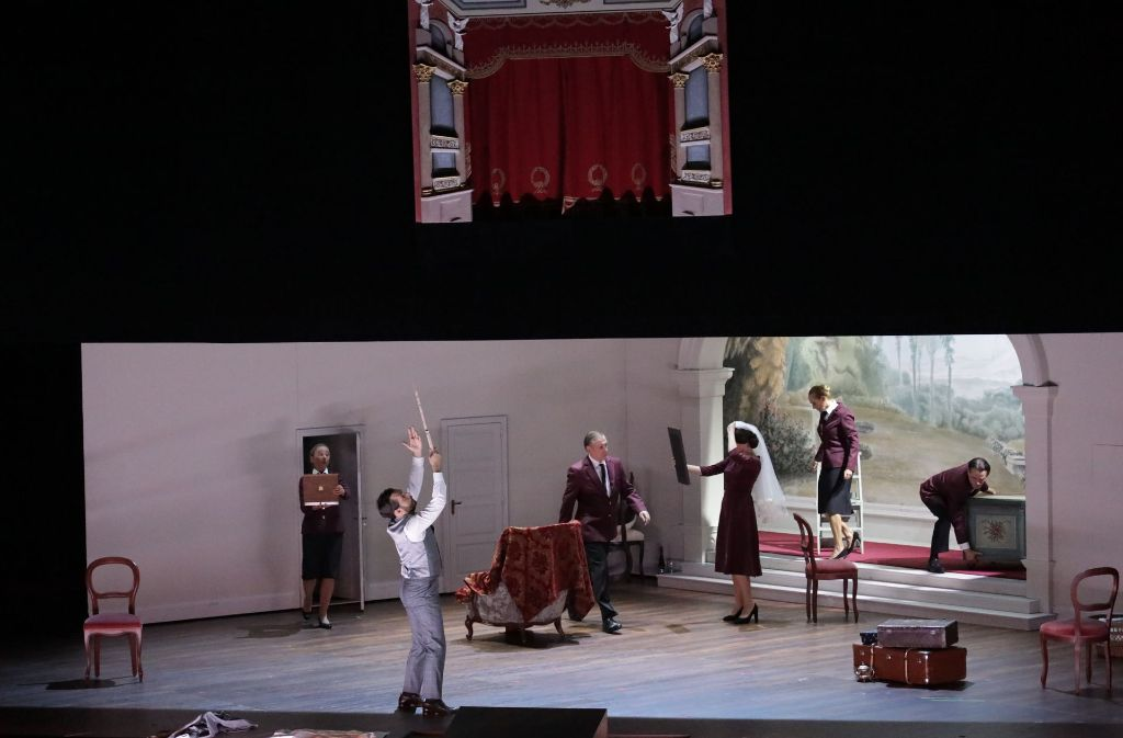 """Eröffnung der neuen Spielzeit mit der Oper """"Le nozze di Figaro"""". Foto: Patricia Sigerist"""