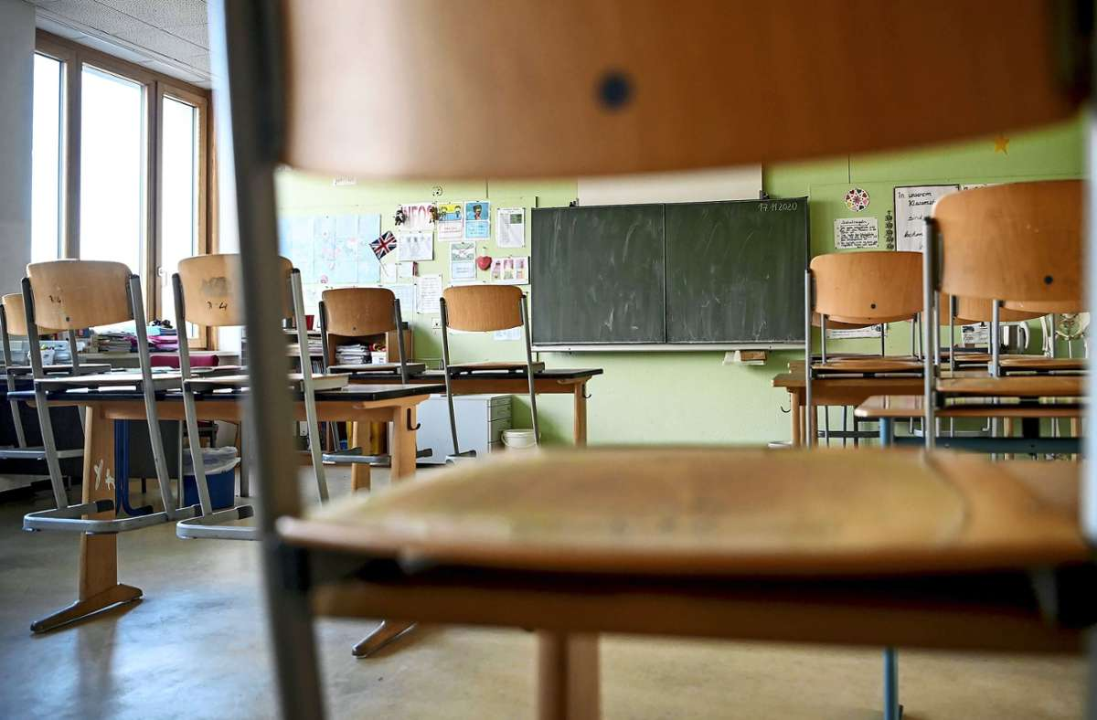 Ab Montag  dürfen die Klassenzimmer wieder bevölkert werden. Foto: dpa/Britta Pedersen