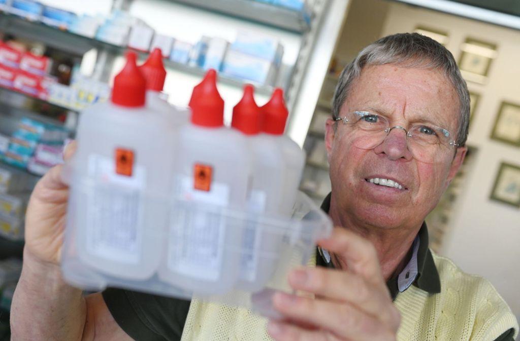 Michael Hofheinz: Der Apotheker ist  nicht nur Pillenverkäufer. Foto: dpa/Uli Deck