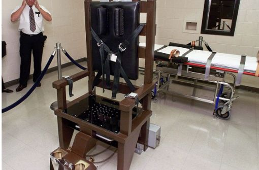 Doppelmörder mit elektrischem Stuhl hingerichtet