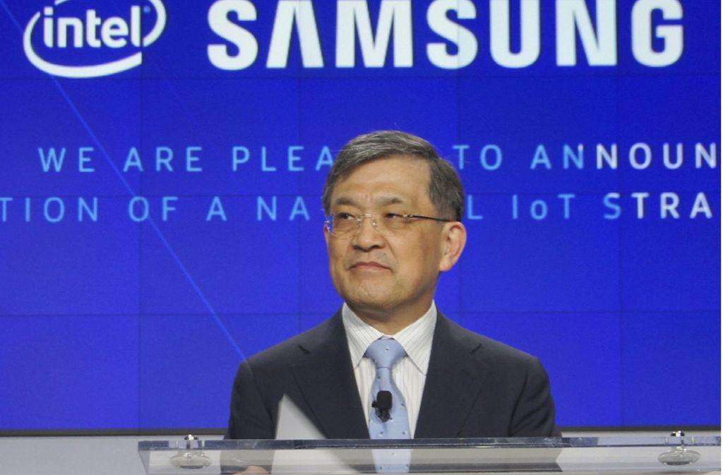 Der De-Facto-Chef des südkoreanischen Technologiekonzerns Samsung hat angekündigt, im kommenden Jahr von seinem Posten zurückzutreten. Foto: dpa