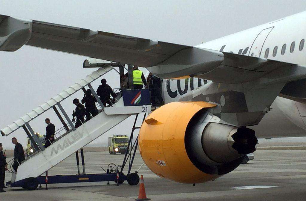 In der Nacht auf Dienstag sind die 162 Condor-Fluggäste am Flughafen Köln/Bonn gelandet. Foto: dpa/Symbolbild