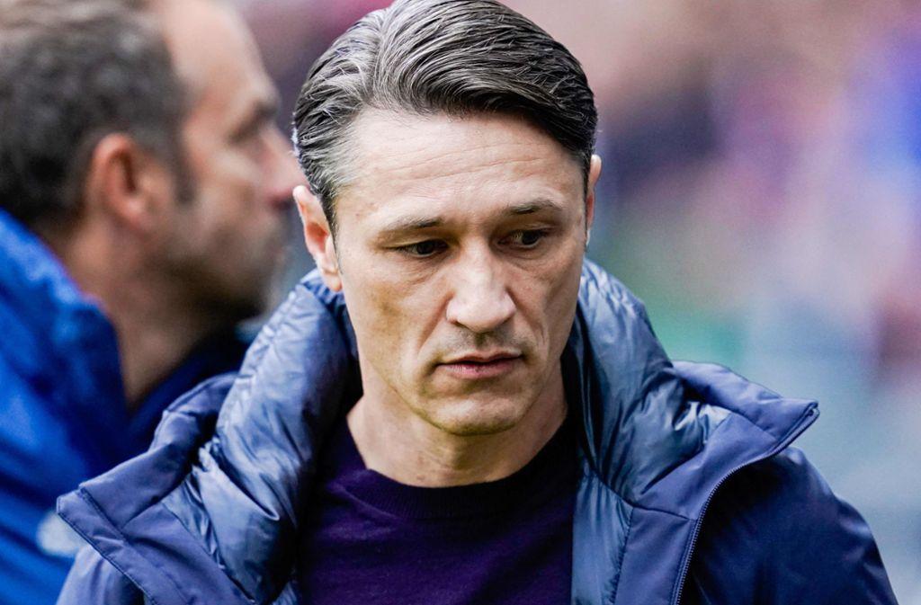 Niko Kovac ist laut einem Medienbericht kein Bayern-Trainer mehr. Foto: AFP/UWE ANSPACH