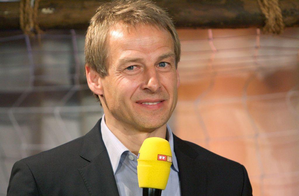 Jürgen Klinsmann war für RTL bei Spielen der deutschen Nationalmannschaft als Experte im Einsatz. Foto: PublicAd/Public Address Presseagentur