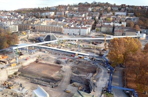 Der Bau des neuen Stuttgarter Hauptbahnhofs beschäftigt weiter die Justiz. Foto: dpa