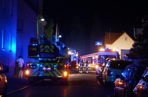 Gasgrill setzt zwei Häuser in Brand