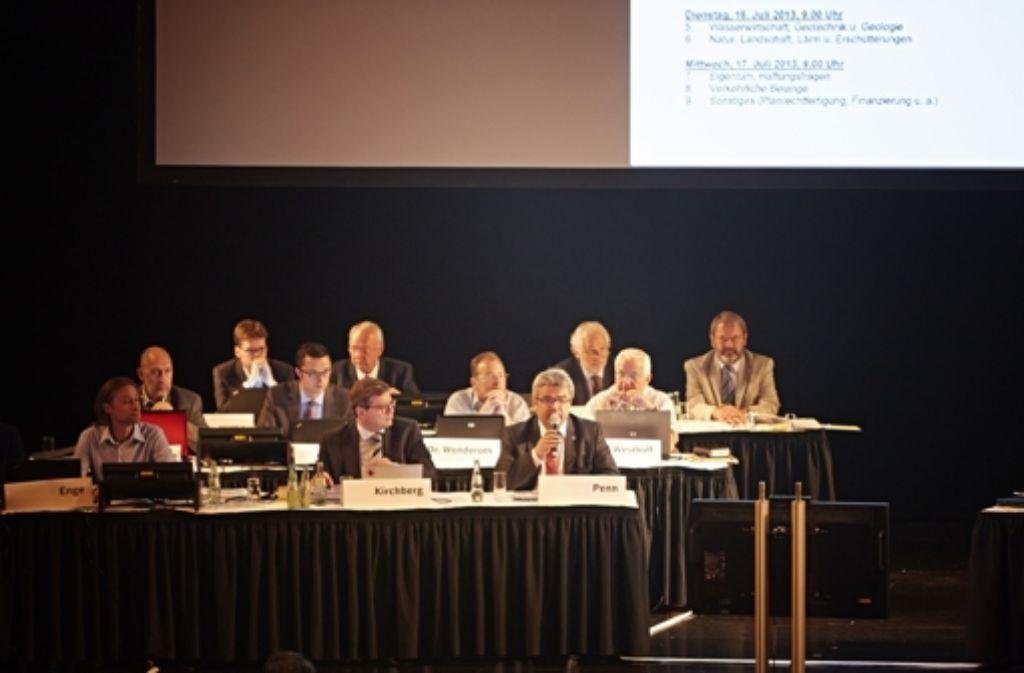 Die Erörterung wurde abgebrochen. Foto: Heinz Heiss