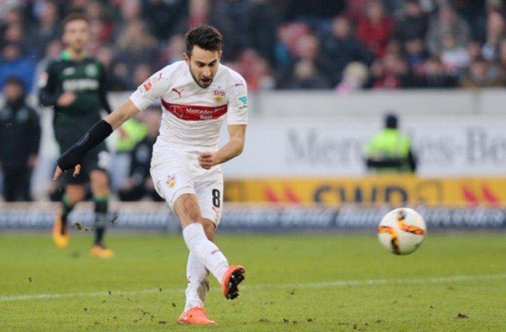 In ihrer freien Zeit haben die VfB-Spieler Kraft getankt. Nun heißt es auch für Lukas Rupp wieder: Volle Kraft voraus.  Foto: Pressefoto Baumann