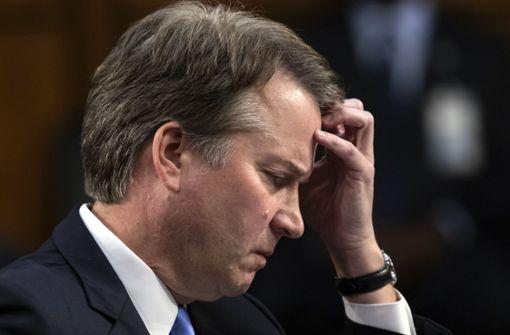 Neue Vorwürfe gegen Trump-Kandidat Brett Kavanaugh