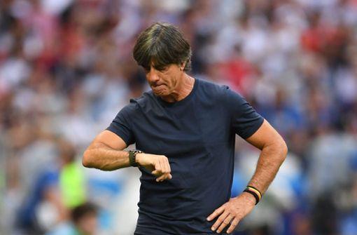 Bundestrainer Löw schließt Rücktritt nicht aus