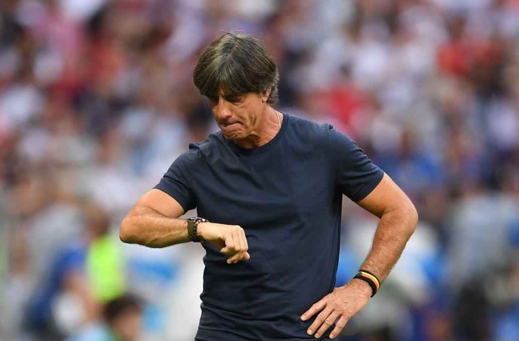 Jogi Löw konnte die Weichen für das deutsche Team nicht auf Erfolg stellen. Foto: dpa