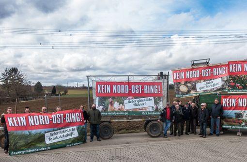 Freie Wähler  in der Region streiten über Nordostring