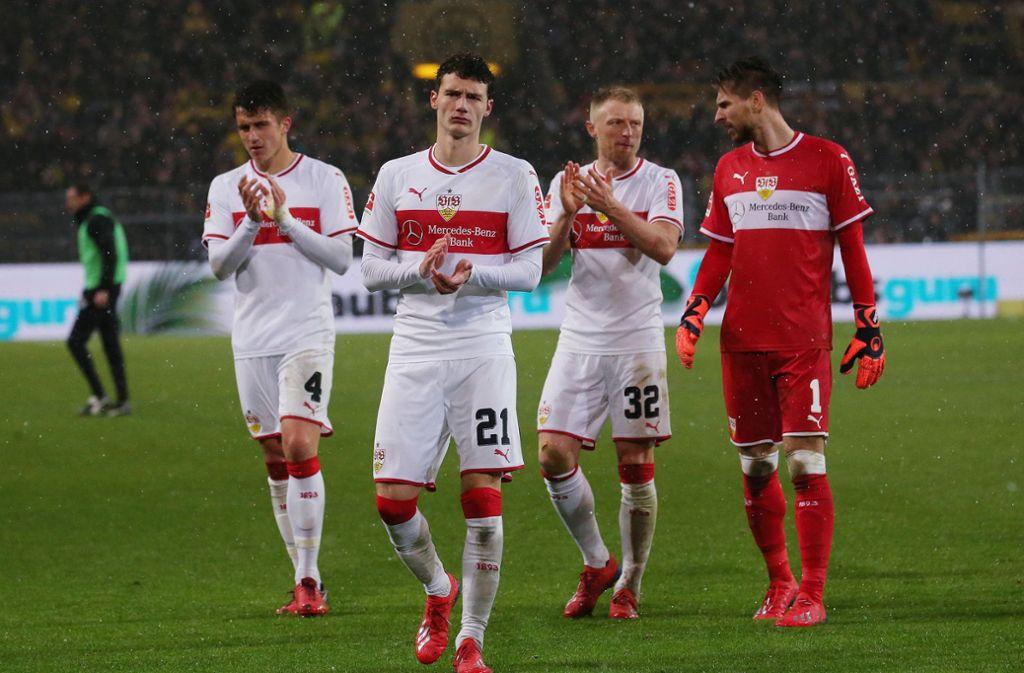 Niederlage für den VfB Stuttgart bei Borussia Dortmund. Unsere Redaktion hat die Leistung der VfB-Profis wie folgt bewertet. Foto: Pressefoto Baumann