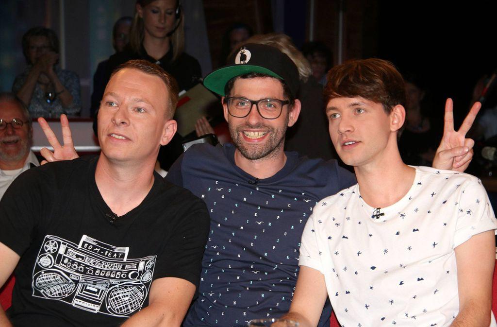 "Florian Sump (links) und Lukas Nimschec (rechts) kämpfen bei ""The Voice Kids"" um Talente. Foto: imago/APress/imago stock&people"