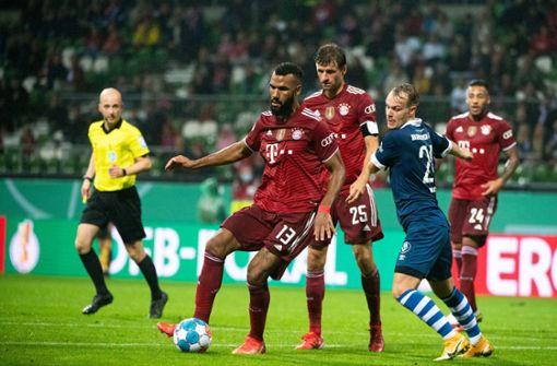 Bayern München  leicht und locker in Runde zwei