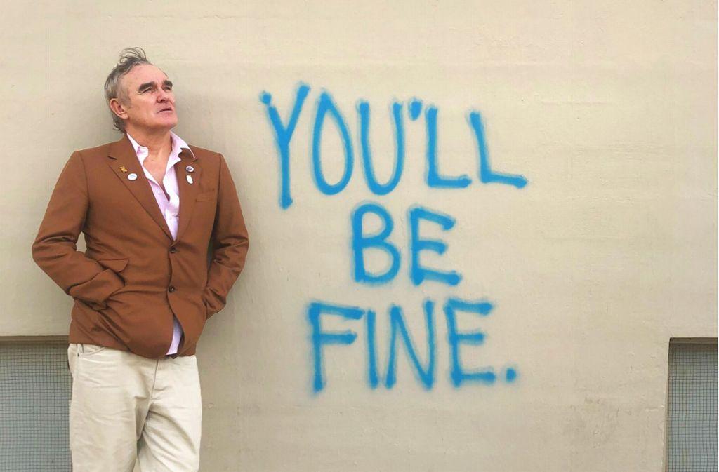 Morrissey heute. Alles fein soweit? Foto: shorefire.com/roster