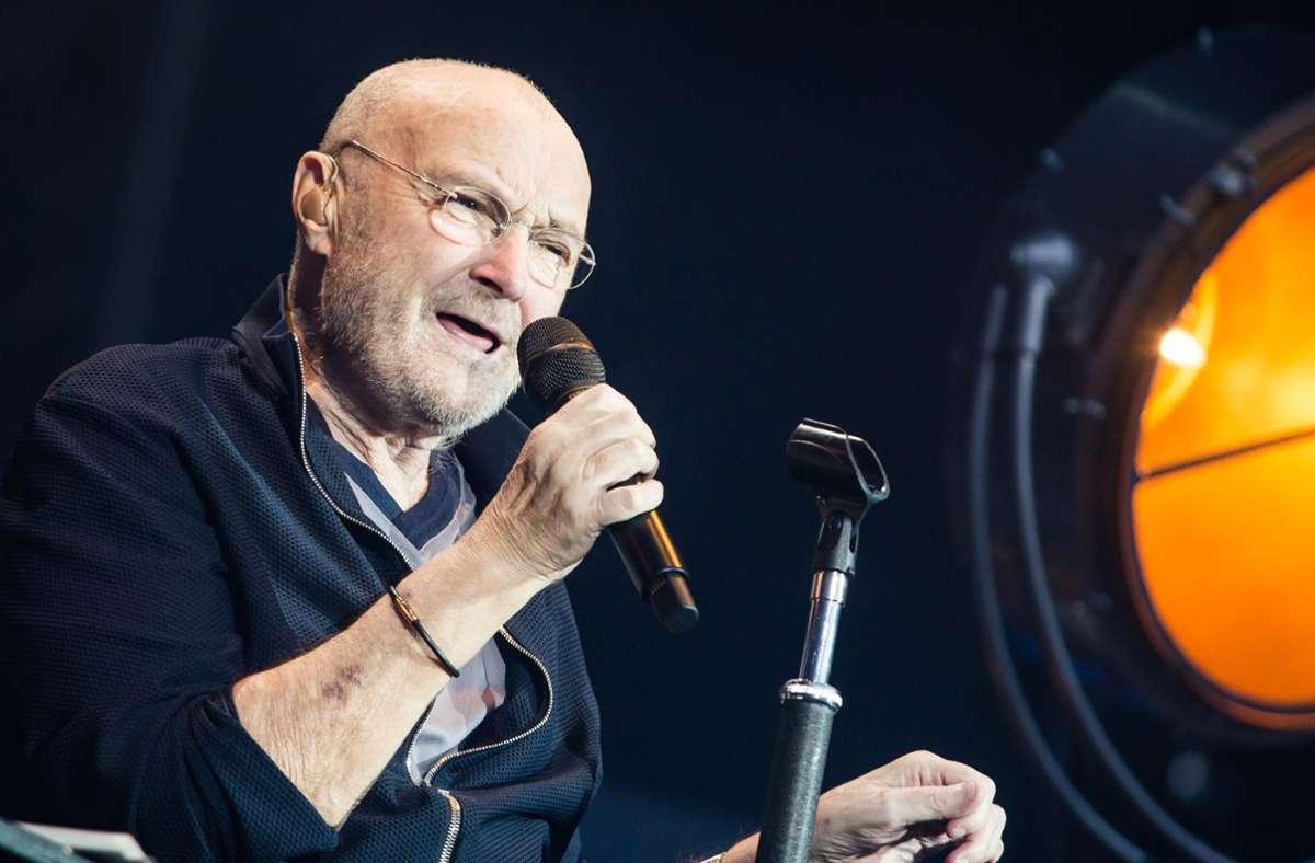 Phil Collins hat seine Anwälte gegen Trump in Gang gesetzt. Foto: dpa/Christoph Schmidt