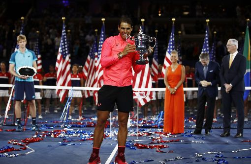 Nadal holt sich seinen dritten US-Open-Titel