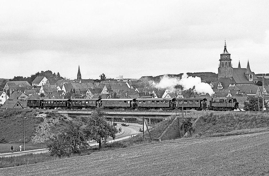 Spannende Fakten zur Geschichte der Schwarzwaldbahn zeigen Gert und Jutta Tetzner in einem Film. Foto: Archiv