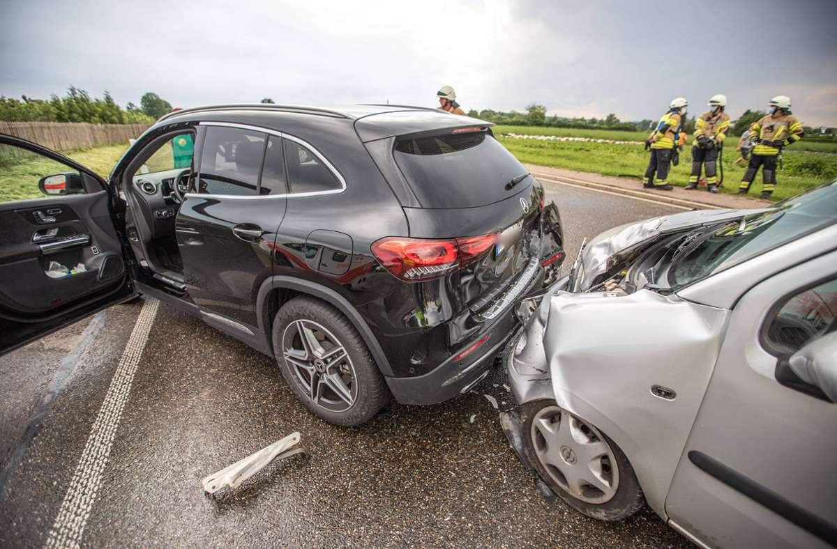 Der Unfall ereignete sich bei Fellbach-Schmiden. Foto: 7aktuell.de/Simon Adomat