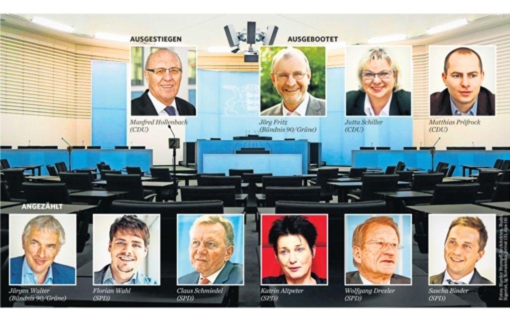 In der Region Stuttgart müssen auch  langjährige Politiker um ihr Mandat zittern. Foto: