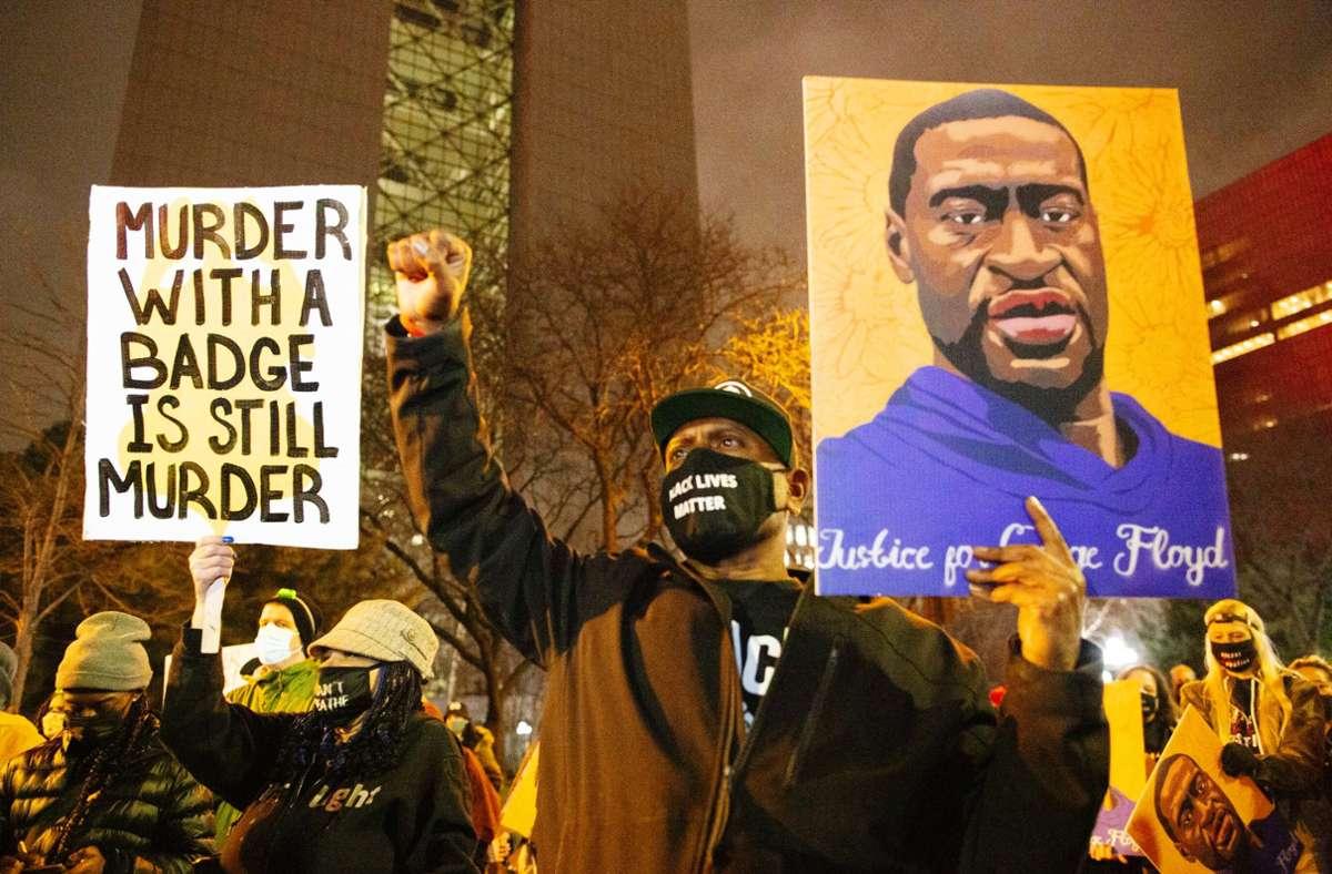 US-Firmen haben sich auch  mit den Protestierenden gegen Polizeigewalt verbündet. Foto: dpa/Henry Pan