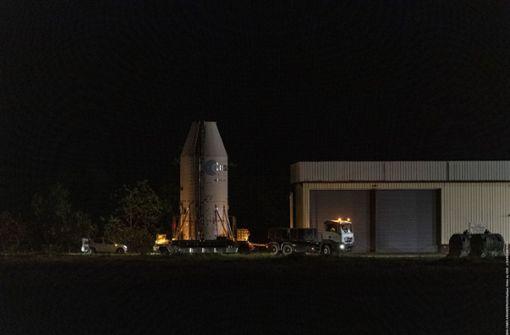 Rakete startet mit einem Tag Verspätung ins All